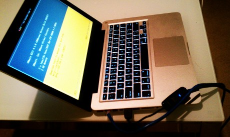 ESXi 4.1 on top of Fusion on Apple MacBook Pro