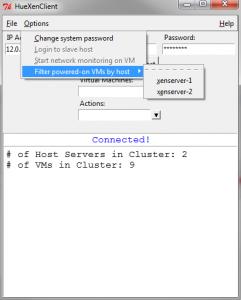 HueXenClient - XenServer client written in Python using the Citrix XenAPI