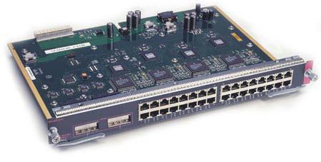 Cisco WS-X4232-GB-RJ Module (32 x 10/100 + 2 x GBIC)