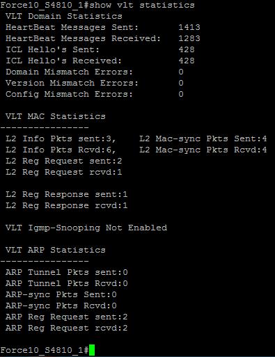 "S4810_1 - ""show vlt statistics"""
