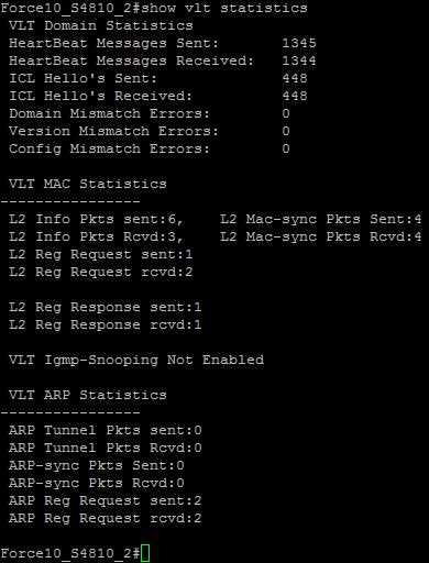 "S4810_2 - ""show vlt statistics"""